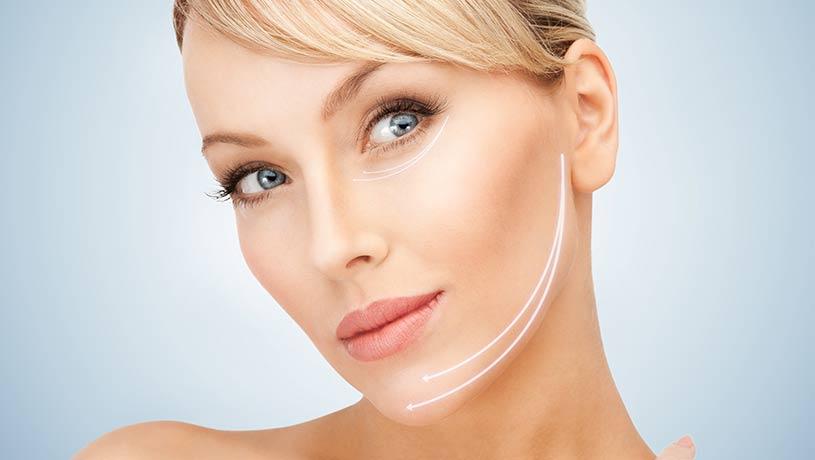 operacja plastyczna lifting twarzy facelifting zabieg